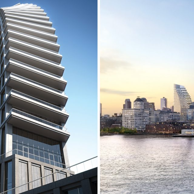Sales launch at curvy Olympia Dumbo, to be tallest and priciest condo in the neighborhood