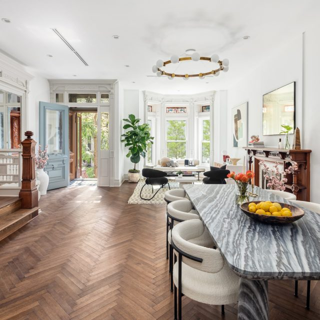 For $7.5M, a family-friendly Brooklyn brownstone on a park block