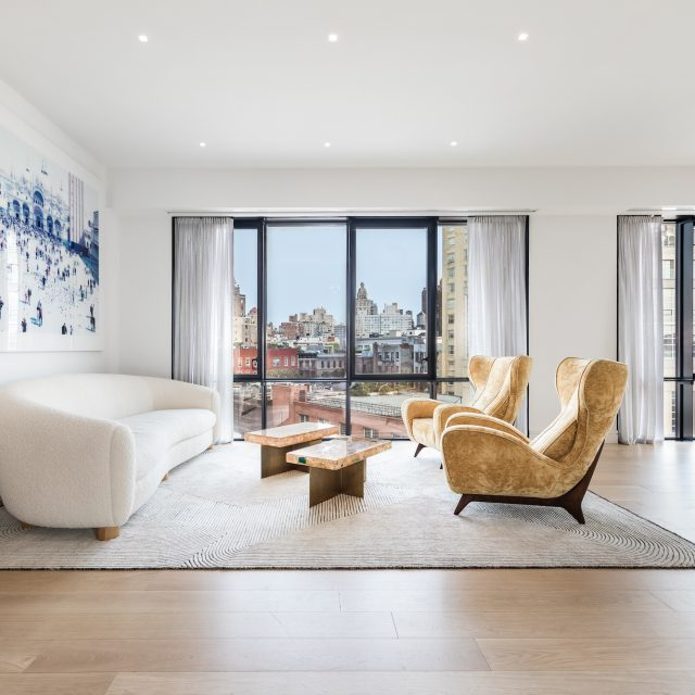 A designer's West Village penthouse, wrapped in luxurious finishes and outdoor gardens, asks $11.3M