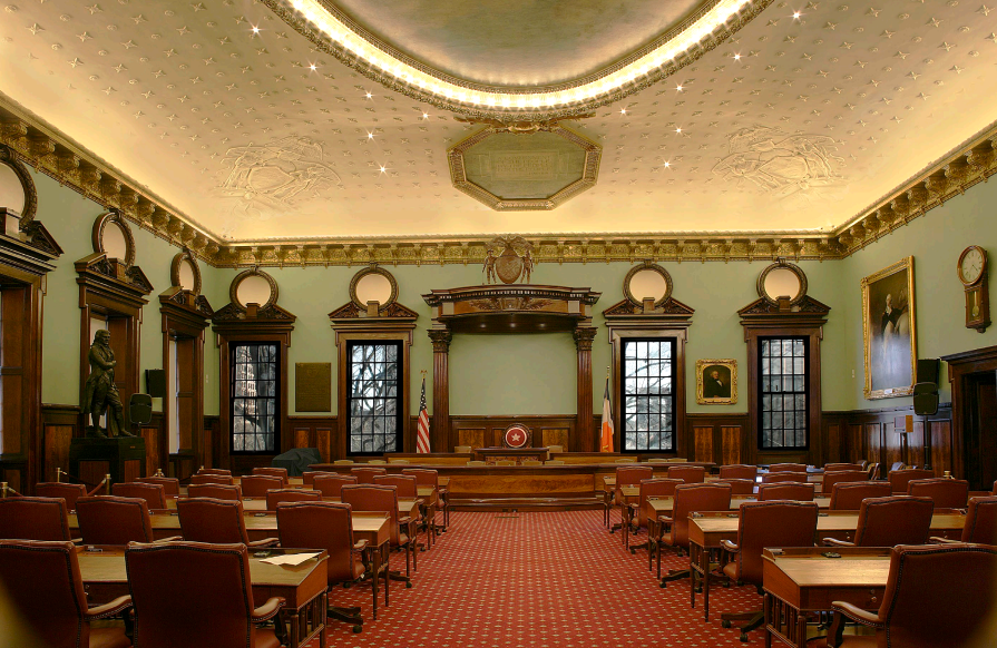 Thomas Jefferson statue will be removed from NYC Council chambers but new location undecided