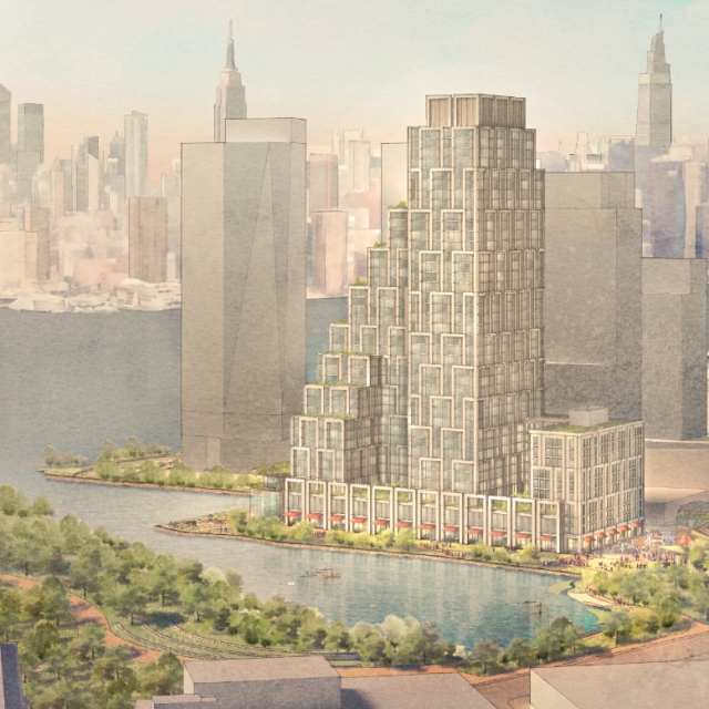 900-unit mixed-use complex planned for MTA-owned site in Greenpoint