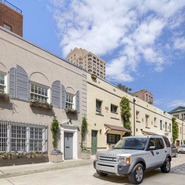 For $10.5M, a 19th-century carriage house in Greenwich Village's historic Washington Mews