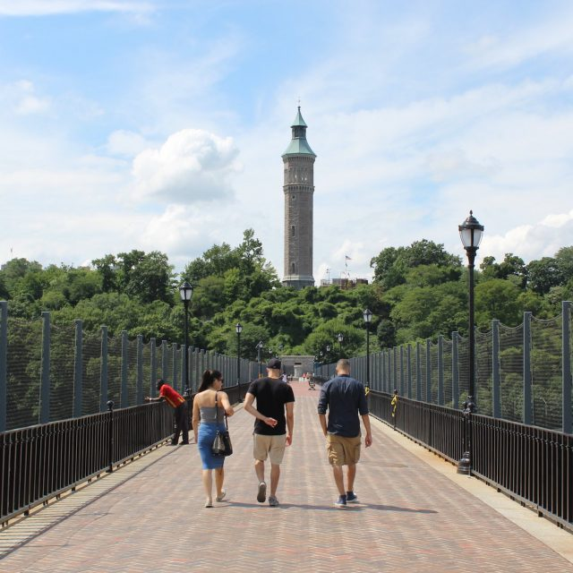 After $5M restoration, NYC's historic Highbridge Water Tower reopens for public tours